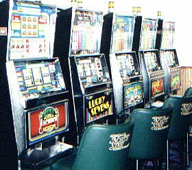 Slot Machins at North Star Casino